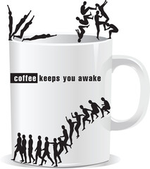 coffee keeps you awake