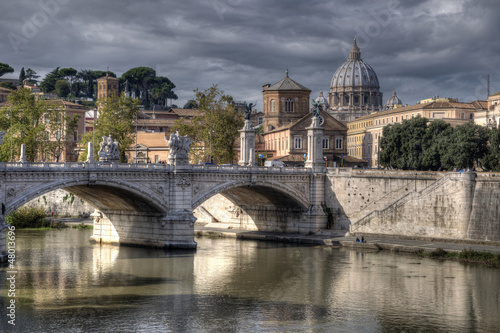 Cavour Bridge, Rome, Italy