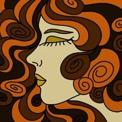 profilo di donna