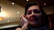 Geschäftsfrau mit Handy