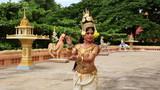 Apsara Dancer seductive supernatural female in asian mythology poster
