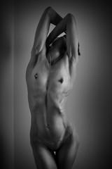 Fine art image of female body
