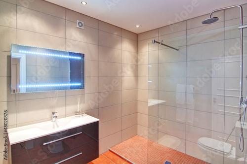 Rich bathroom. In Decoration.