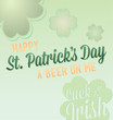 Vector Happy St. Patrick's Day Card