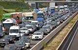 Fototapety Autobahnstau