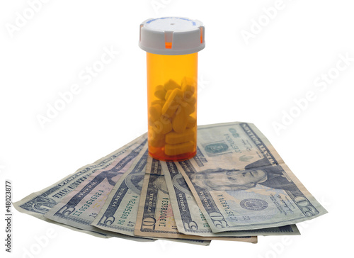 pill bottle money