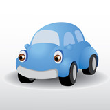 beetle car vector