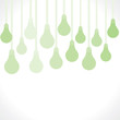 green bulb background