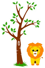Tree and Lion