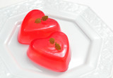 Jelly hearts for Valentine's Day