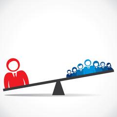 leadership concept stock vector