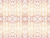 Beige abstract seamless pattern