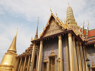The Royal Pantheon, Wat Phra Kaew in Bangkok, Thailand