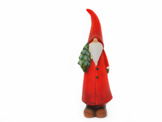 Figurine of funny Santa