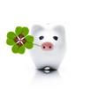 Schweinchen mit Glücksklee