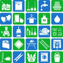 Ikony Sprzątanie