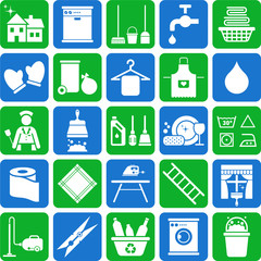 House Cleaning icons