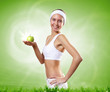 Sport and healthy food