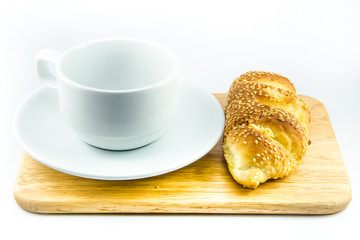 Bread&Coffee cup