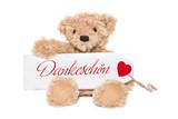 Ein Bär sagt Dankeschön