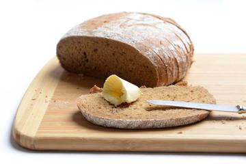 Mischbrot mit Margarine