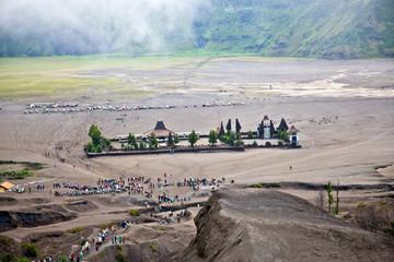 Hindu temple near Mt. Bromo ,East Java, Indonesia