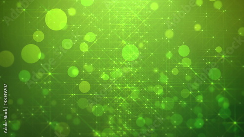 Abstract Particles Background HD