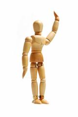 Human Model Wood Puppet