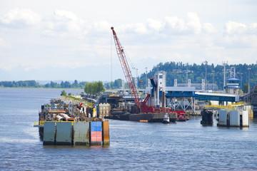 Docks Under Construction