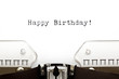Typewriter Happy Birthday