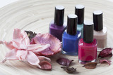 Colorful nail lacquer