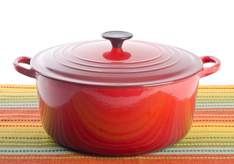 Red Dutch Oven