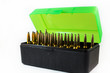 Rifle Ammo Storage Box with Bullets