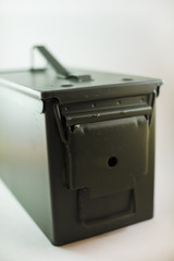 50 Caliber Ammo Can Closed