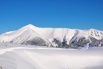 Winterlandschaft Schneeberg
