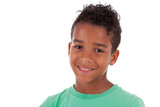 Portrait of a cute african american little boy