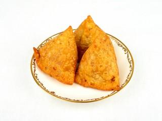 A plate of Samosas