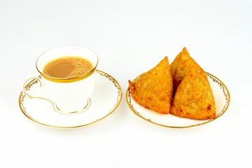 Chai Tea and Samosa