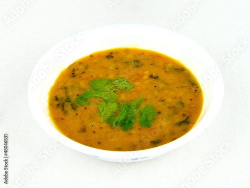 Tasty indian daal fry
