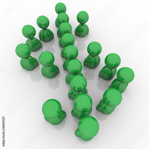 Dollar Sign Green People Money Symbol Currency