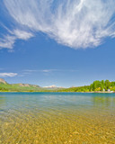 Beautiful Lake Electra in the San Juan Mountains