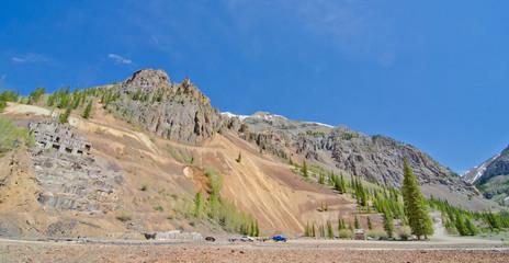 Silver Mine Ruins in Silverton, Colorado