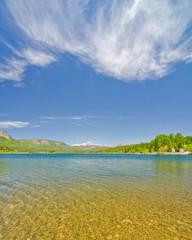Beautiful Lake Electra in the San Juan Mountains