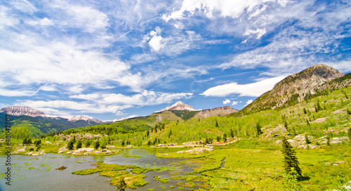 Beaver Lagoon in the San Juan Mountains