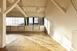 wide open space, big loft