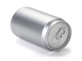 Aluminum cans, Blank soda or beer can, Realistic photo image