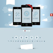 website template for smart phone and mobile phone company