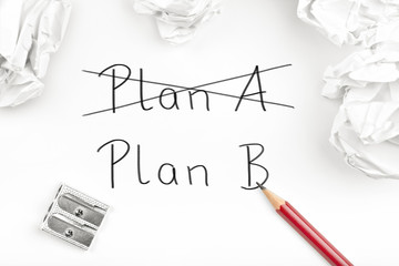 Strategiewechel / Planänderung