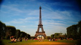 scenes of Paris, views of the Eiffel Tower