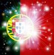 Portuguese flag background